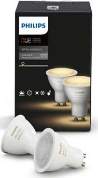 Philips HUE White Ambiance GU10 halogen spot 2-pak