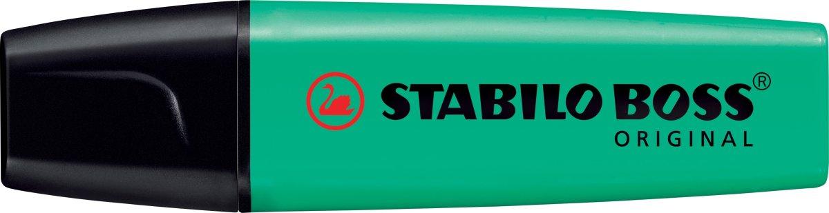 Stabilo Boss 70/51 overstregningspen, turkis