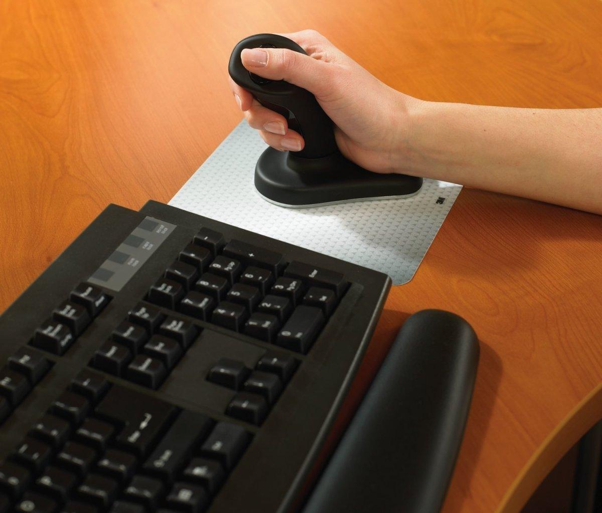 3M Anir ergonomisk mus, stor - trådløs