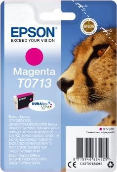 Epson nr.T0713/C13T07134022 blækpatron, rød, 415s