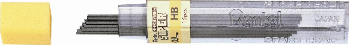 Pentel 50-9 0,9 mm HB, 12 stk.