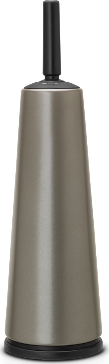 Brabantia Toiletbørste m. holder, platinum