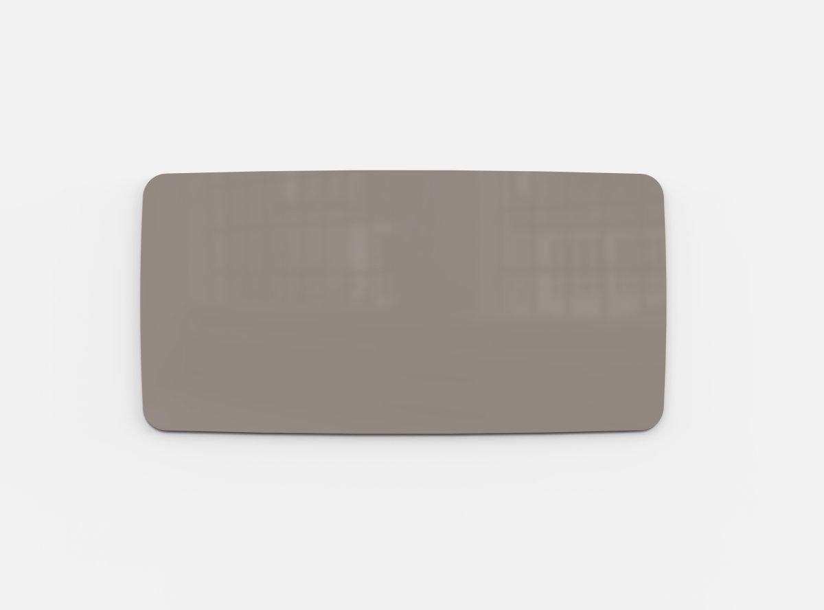 Lintex Mood Flow, 200 x 100 cm, gråbrun cozy