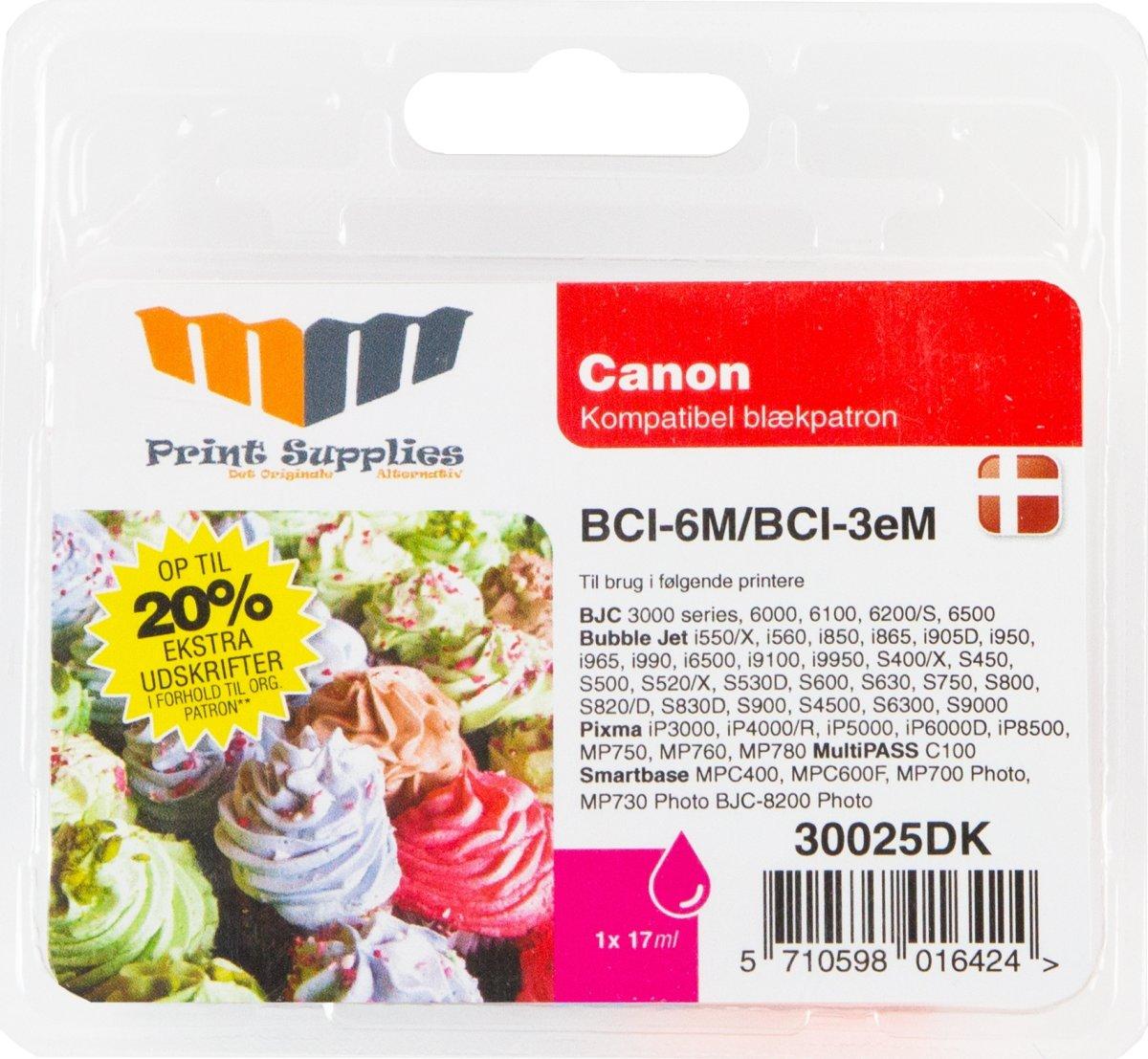 MM BCI-3eM Blæk, Rød, 460s