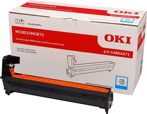 OKI 44844471 lasertromle, blå