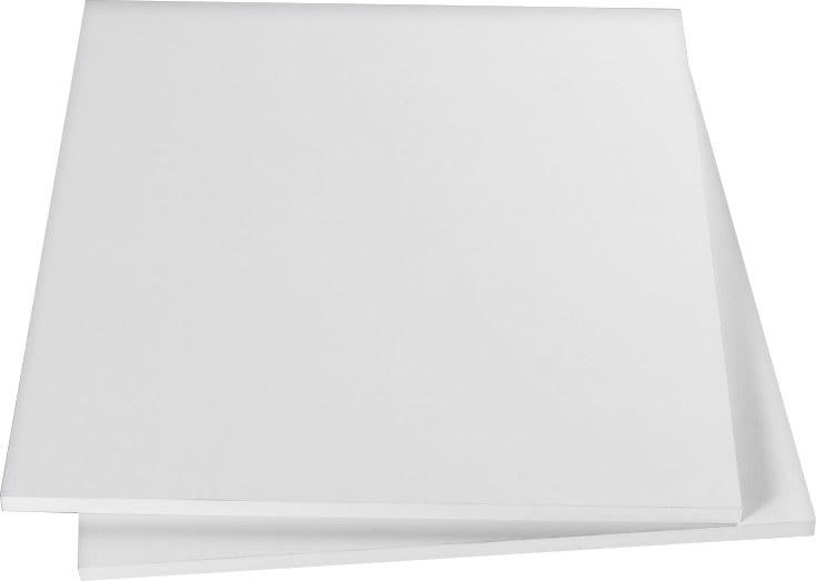 Pakke m/ 2 hylder til 120 cm skab, Hvid