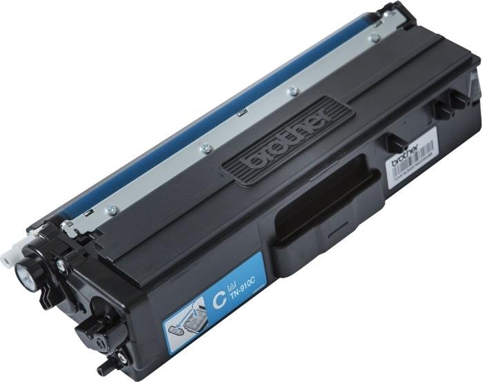 Brother TN-910C Lasertoner, Blå, 9.000 sider