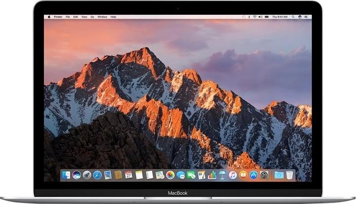 "Apple MacBook 12"" Core i5 512 flash, silver"