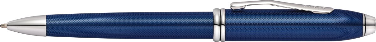 Cross Townsend kuglepen, Quartz Blue Lacquer