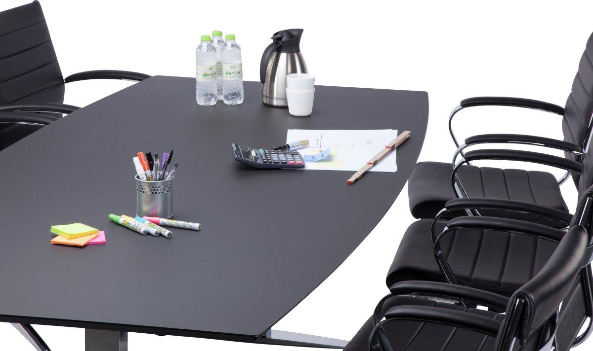Rico Basic konferencesæt, 220x110/90 cm, linoleum