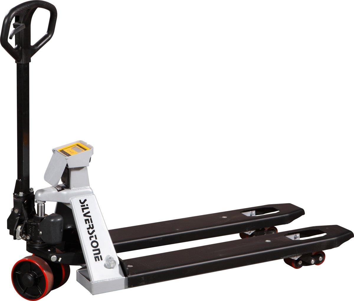 Palleløfter med vægt, 1150x555 mm, 2000 kg