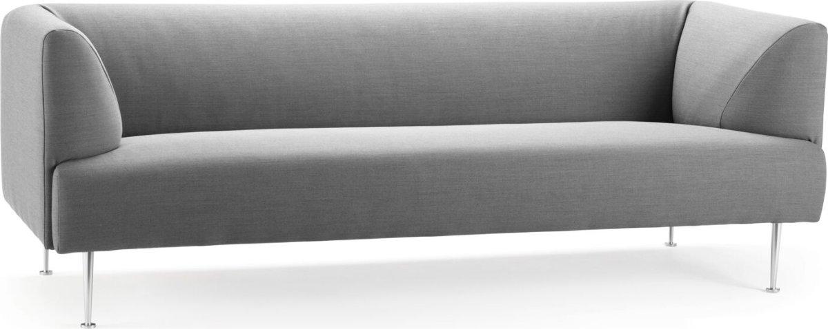Gemini Sofa 3 pers, Grå, L 220 cm