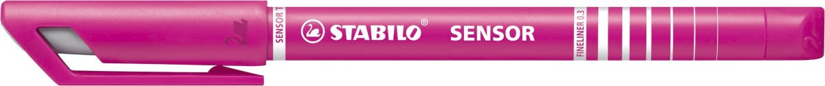Stabilo Sensor Fiberpen, pink