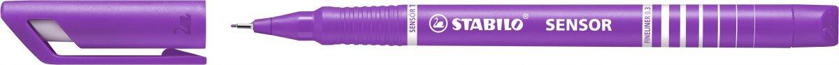 Stabilo Sensor Fiberpen, lilla