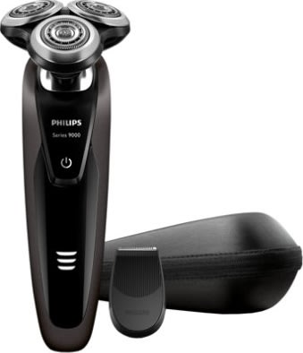 Philips S9031/12 Series 9000 Shaver, sort