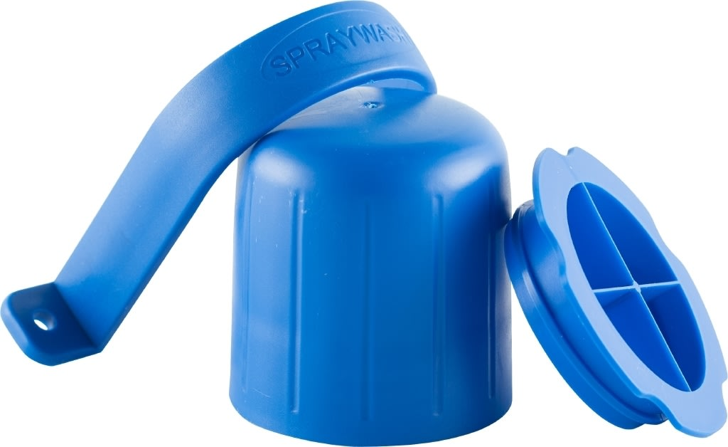 SprayWash Beholder, tablet kit, blå