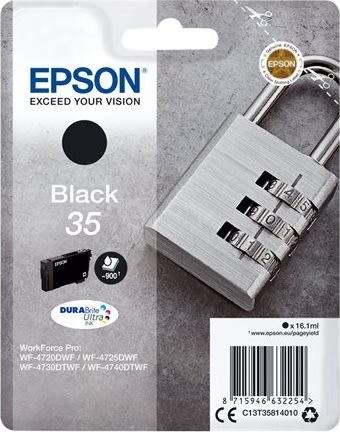 Epson 35 blækpatron, sort, 16,1ml