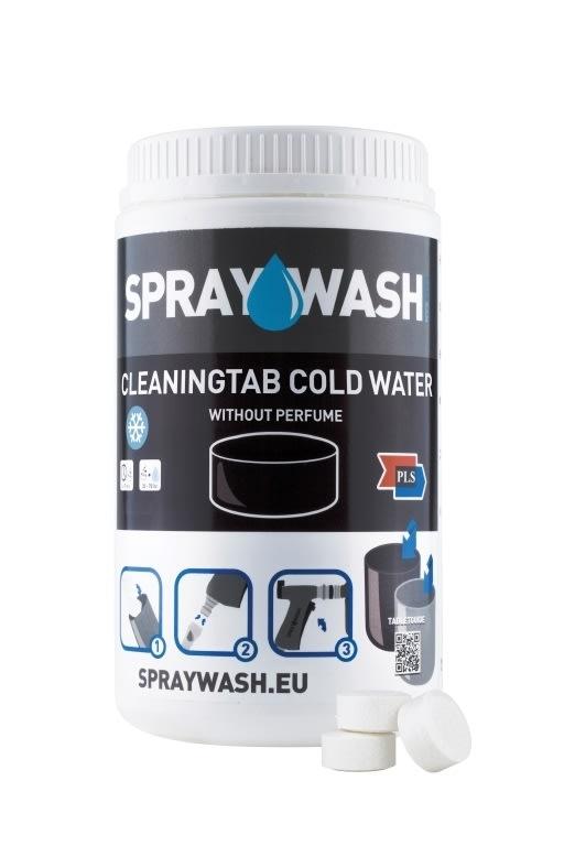 SprayWash Rengøringstablet, koldt vand, 14 stk.
