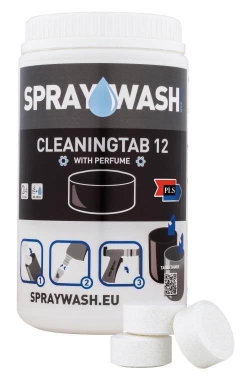 SprayWash Rengøringstablet 12 m. duft, 14 stk.