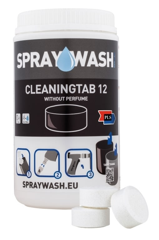 SprayWash Rengøringstablet 12 u. duft, 14 stk.