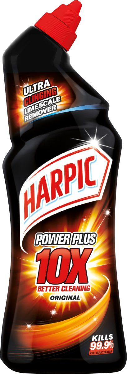 Harpic Power Plus Max10 flydende toiletrens, 750ml