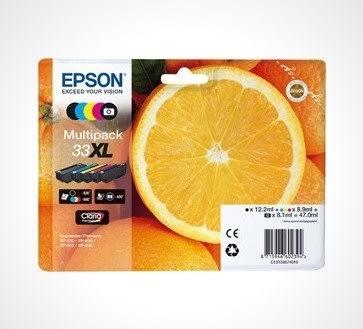 Epson 33XL blækpatron multipakke