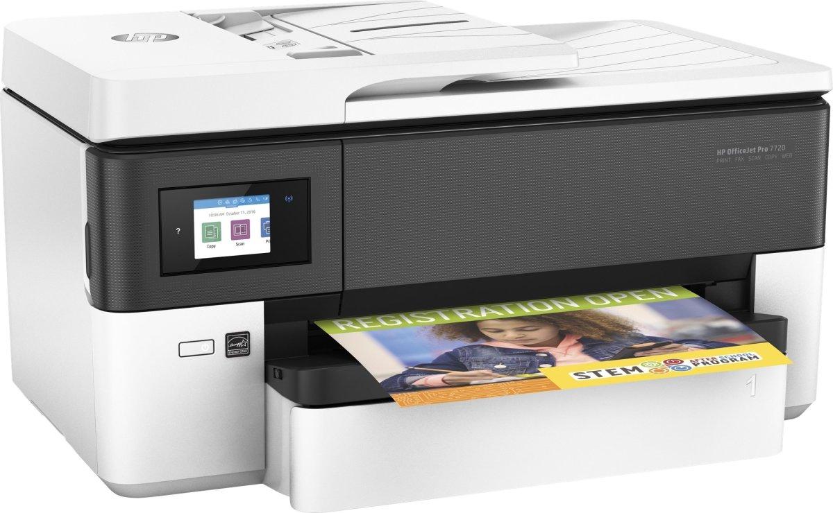 HP Officejet 7720 MFP, farve