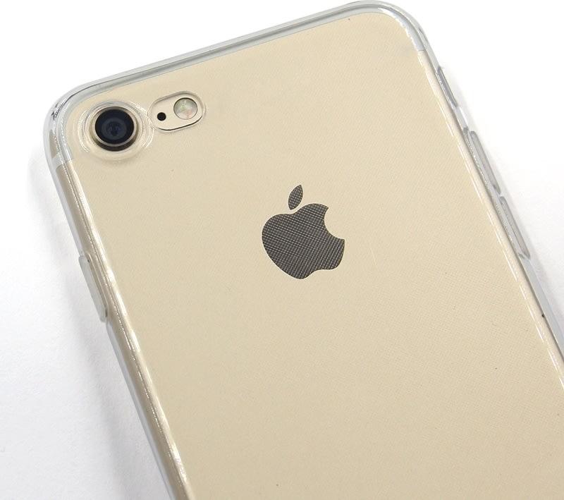Twincase iPhone 8 case, transparent
