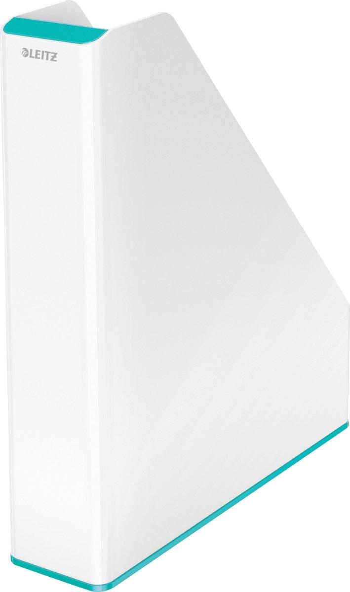 Leitz WOW Tidsskriftssamler, hvid/grå
