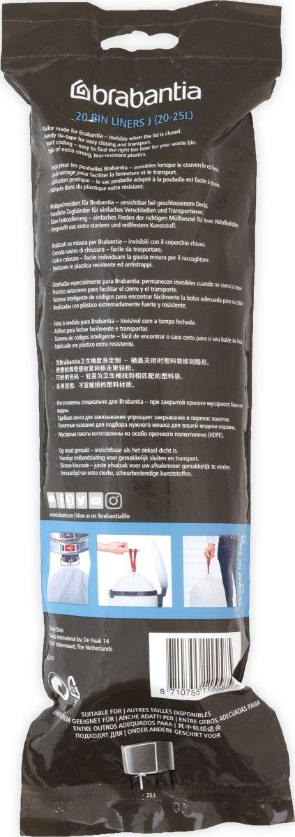 Brabantia Affaldspose J, 20-25 liter, 20 stk.