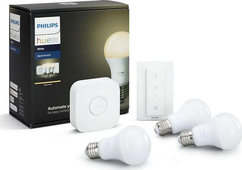 Philips HUE E27 samlet pakket, hvid