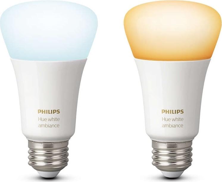 Philips HUE E27 ambiance dobbeltpakke, hvid