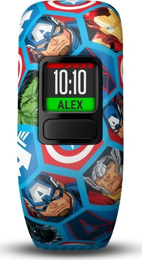 Garmin vívofit® jr. 2 - Marvel Avengers, blå