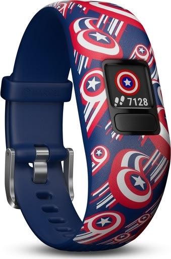 Garmin vívofit® jr. 2 - Marvel Avengers, mørkeblå
