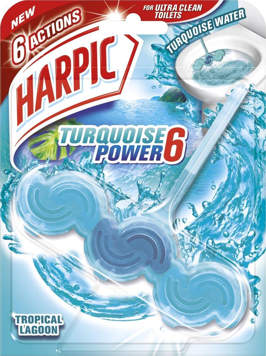 Harpic Wave Tropical Lagoon WC-blok, 1 stk.