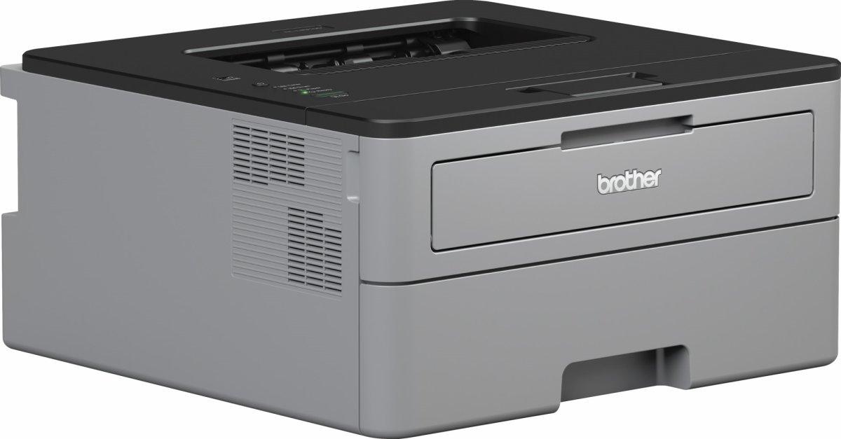 Brother HL-L2310D sort/hvid laserprinter