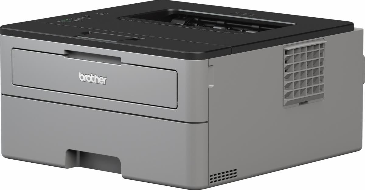Brother HL-L2350DW sort/hvid laserprinter