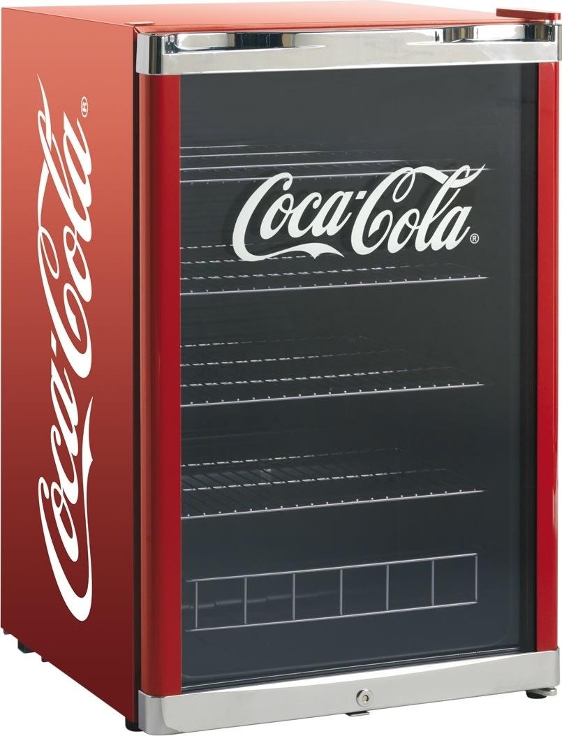 Scandomestic HighCube Coca-Cola Displayskab
