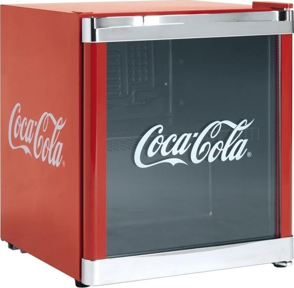 Scandomestic CoolCube Coca-Cola Displayskab