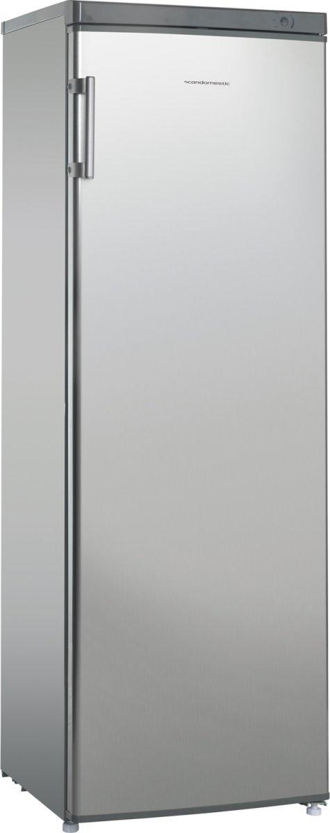 Scandomestic SKS 365-1SS A+ kølekab, stål