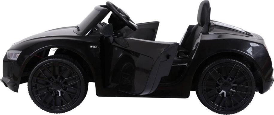 El-drevet Audi R8 bil 12V, sort
