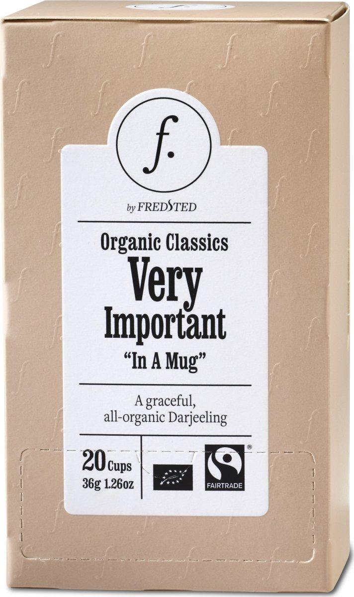 Fredsted Organic Classics Very Te, 20 breve