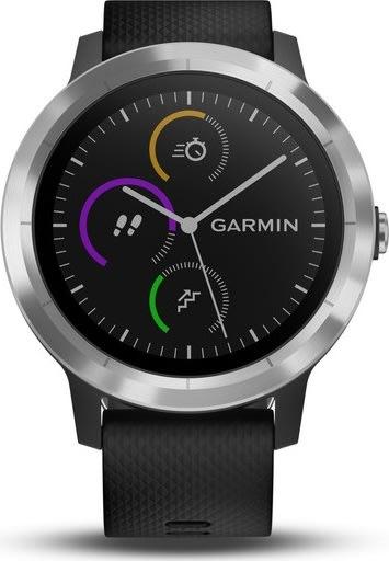 Vivoactive® 3 GPS-smartwatch, sort/sølv