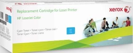 Xerox CF401X lasertoner, cyan, 2.400s