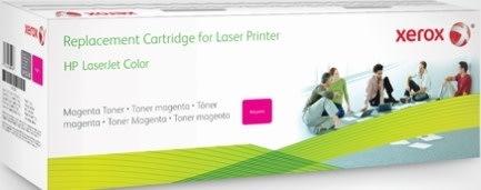 Xerox CF403X lasertoner, magenta, 2.400s
