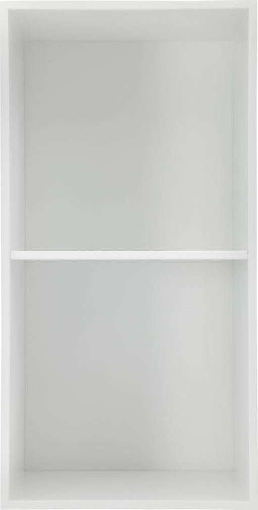HAVANA reol m/2 rum - white, D.34, inkl. ophæng