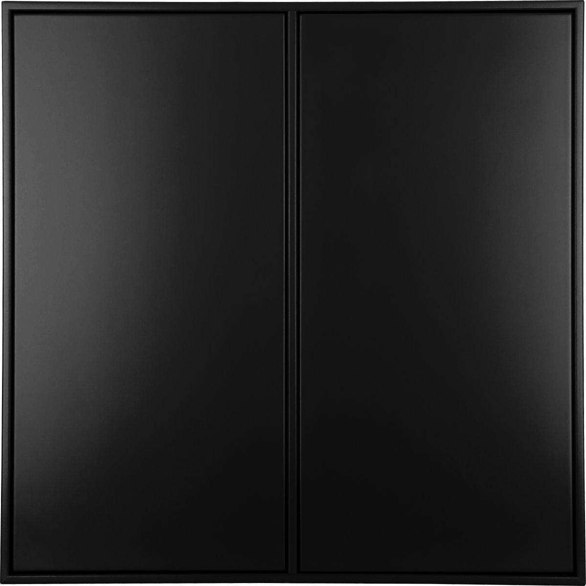 HAVANA skab m/4 rum, 2 låger, Black D.34 inkl. oph