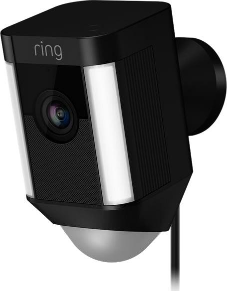 Ring Cam, hardwired, black