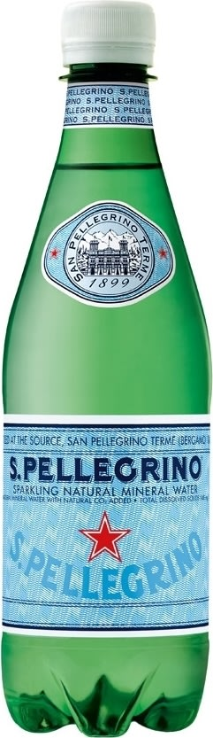 San Pellegrino mineralvand 0,5l inkl. pant
