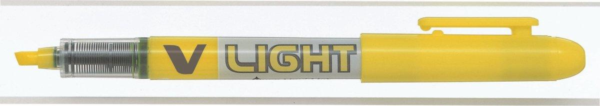 Pilot V-Spotliter overstregningspen, gul
